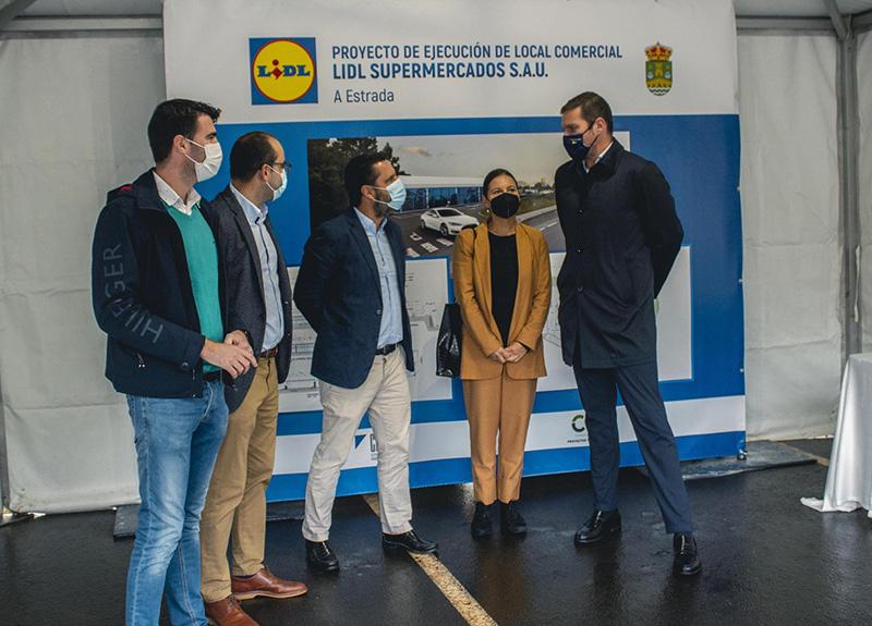 Lidl Estrada obras supermercado Galicia noticias retail