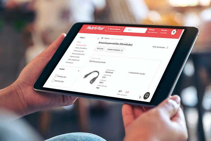 MediaMarkt lanzamiento marketplace España tecnología e-commerce noticias retail