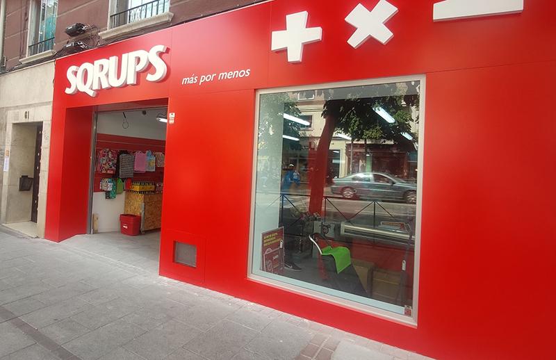 Sqrups Madrid noticias retail