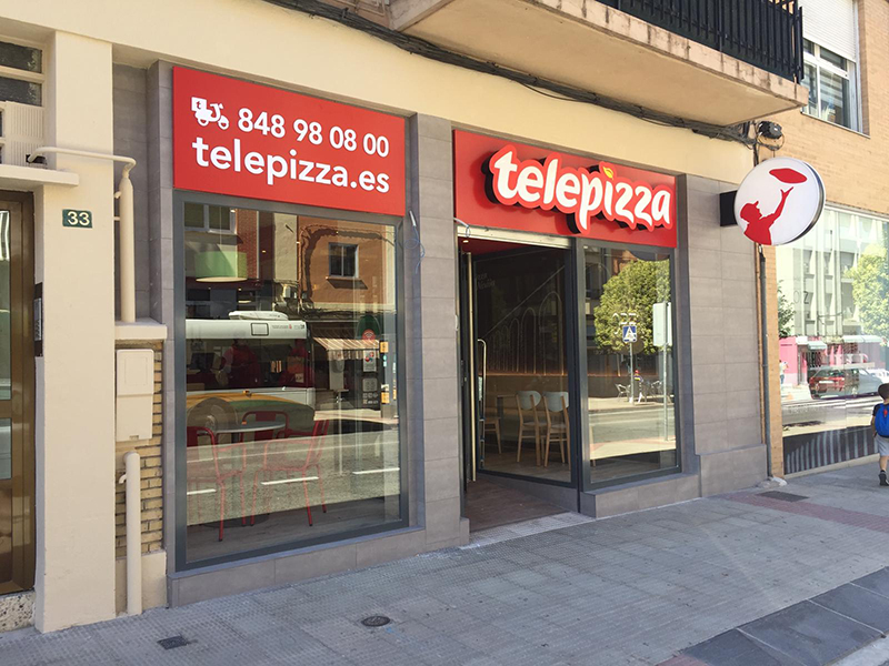 Telepizza Noain Navarra noticias retail