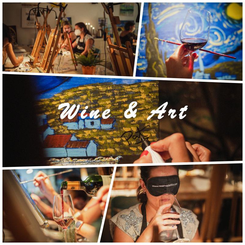 Wine Art arte musica vino experiencia xpresarte reservadel64 teambuilding ocio madrid noticias retail